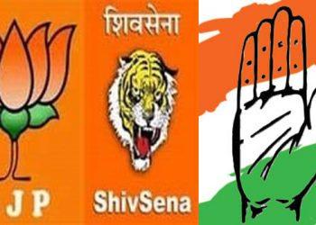 కాంగ్రెస్ ను నలిపేస్తున్న బీజేపీ-శివసేన!!!