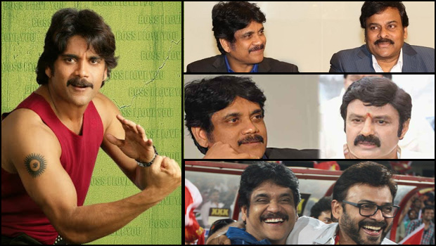 nagarjuna said ready to do act multi starrer movie with senior heroes