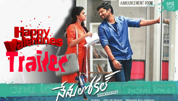 Nenu Local movie Valentines Day special trailer