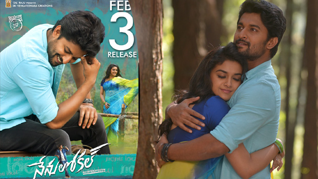 nani keerthy suresh nenu local movie images
