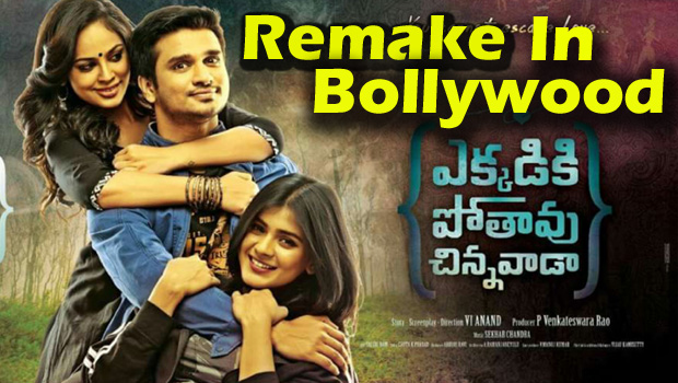 ekkadiki pothavu chinnavada movie remake in bollywood