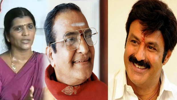 balakrishna announced ntr biopic movie laxmi parvathi villain in this movie