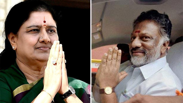 difference between sasikala and panneerselvam