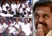 tamil nadu assembly trust vote meetings doing like movie