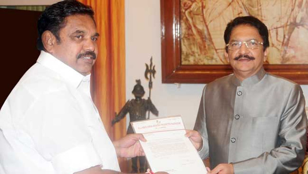 palaniswamy chief minister of tamilnadu