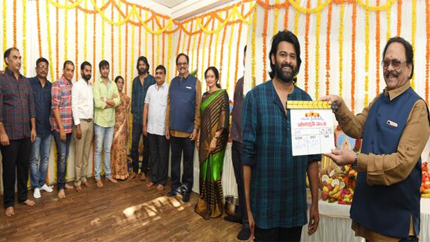 prabhas sujit new movie launch