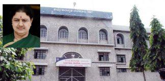sasikala want to shifted from bangalore jail to chennai jail