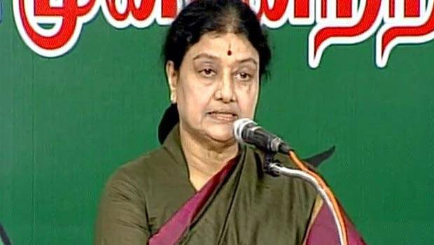 sasikala press meet and target o panneerselvam