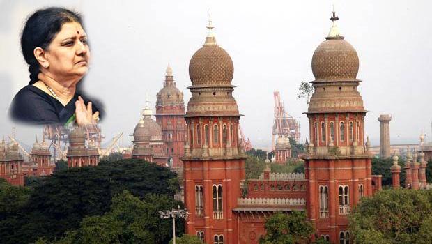 sasikala shocked by madras high court