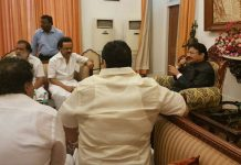 dmk stalin meets governor vidyasagar rao about on assembly meetings issue