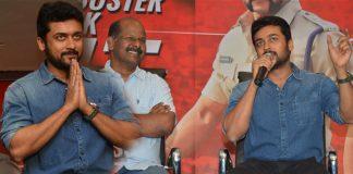 surya singam 3 movie success meet