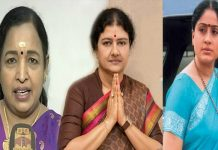 vijayashanthi have happy because of giving support to sasikala