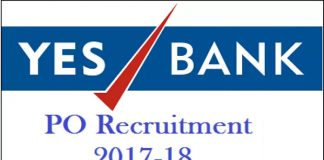 Yes Bank Clerk PO Jobs Opening 2017