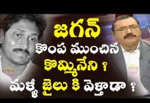 kamineni sruinivas gave hand to jagan