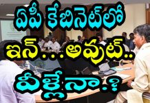 ap cabinet in and out ministers list