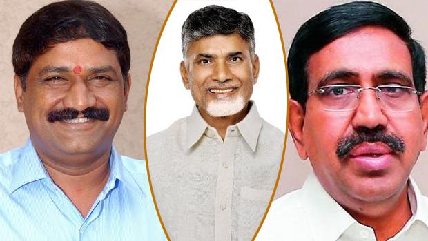 chandrababu praise to ganta srinivasa rao and angry on narayana after mlc elections results