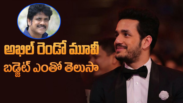 Akhil second movie budget 40 cr