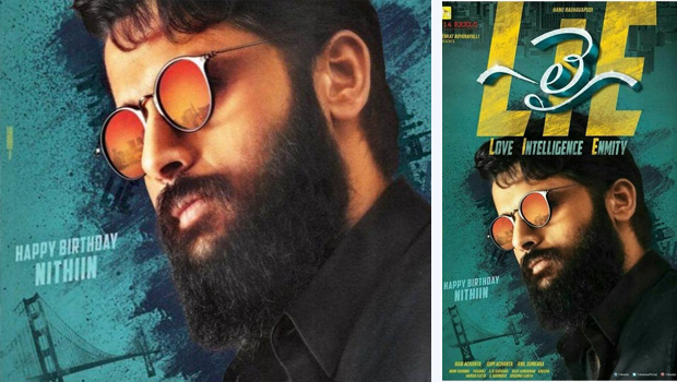 nithin birthday special lie movie poster release