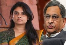 congress leader ramya will join to bjp party because of sm krishna