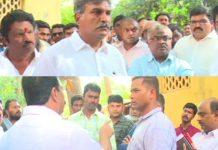 ysrcp leaders fires on TDP Leaders Goondagiri On RTA Officials
