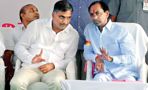 kcr giving full power to harish rao for trs party meeting at warangal