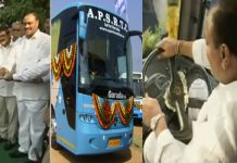 acham naidu turns as garuda bus driver