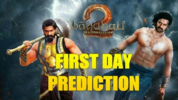 bahubali 2 first day target