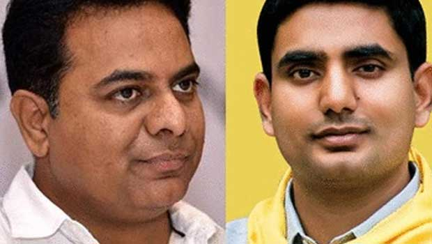 ktr and lokesh same pinch