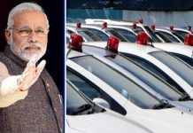 modi says don't use red blue and orange light on the vip cars
