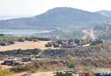 polavaram work stopped due to heat