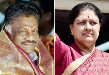 sasikala place gone in aiadmk party because of panneerselvam