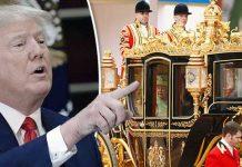 trump wants queen ellizibeth carriage