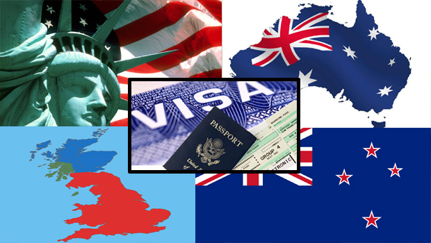 america australia britain and new zealand put conditions for visa to indians
