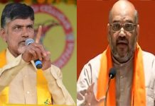 AP Chief Minister Chandrababu Naidu met with BJP national president Amit Shah