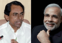 kcr supports modi and competition with bjp