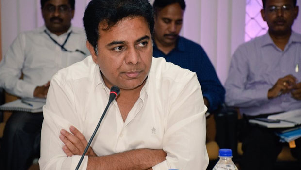 it minister ktr proved to be active in social media