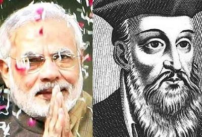 nostradomus about modi rule in india