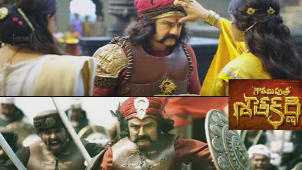 balakrishna acting super in Gautamiputra Satakarni Movie