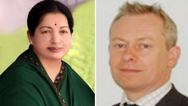 jayalalitha doctor richard beale between fight in apollo hospital