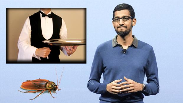 otel waiter teaches to google ceo sundar pichai