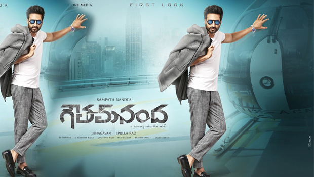 gopichand new movie gautham nanda