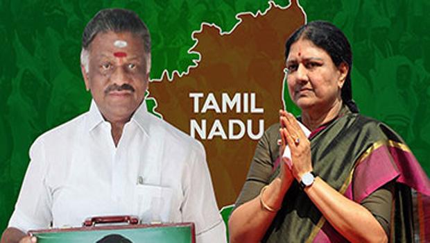 o panneerselvam and sasikala political war for tamil nadu chief minister