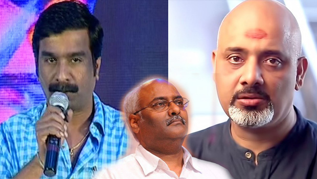 bhaskarabhatla and ramajogayya sastry comments on keeravani