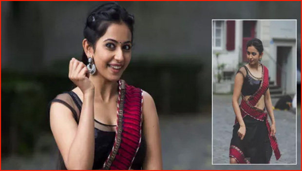 rakul preet singh as village girl in naga chaitanya movie