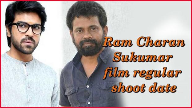ram charan sukumar movie shooting date fix