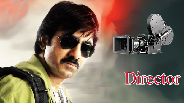 ravi teja will be do directing a movie
