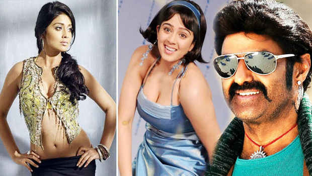 shreya and charmi trying to chance for balakrishna movie
