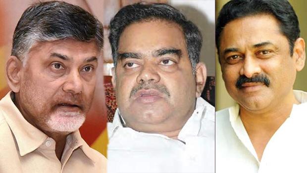 chandrababu disappointed because of bhuma nagi reddy and devineni nehru death