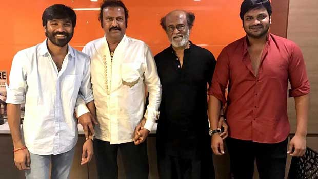 mohanbabu acting under dhanush direction