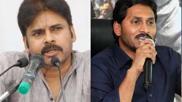 jagan is angry for pawan kalans complements